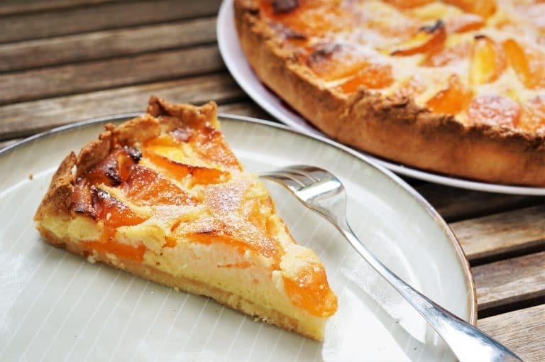 tarte à l'abricot, apricot pie