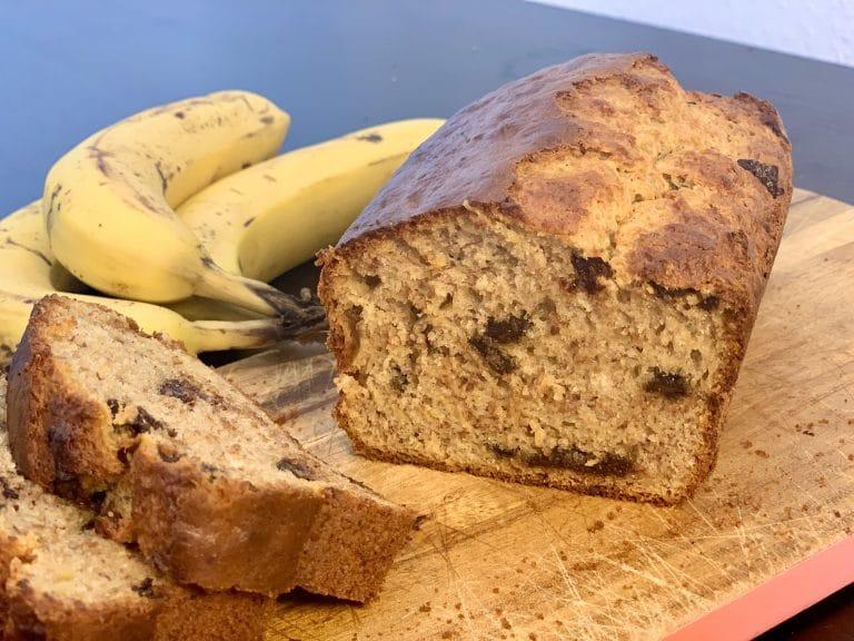 pain de banane, bananenbrot, banana bread