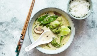 thai curry green
