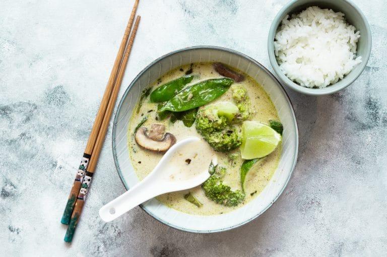 thai curry green