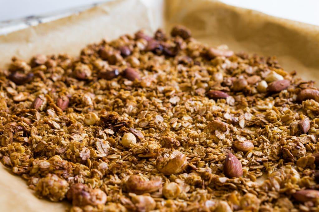 Basic recipe for homemade granola