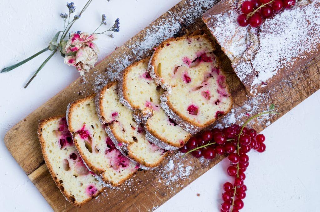 Gâteau Yaourt et Groseilles