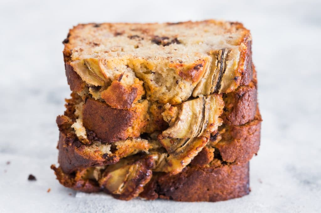 Banana Bread aux Pépites de Chocolat