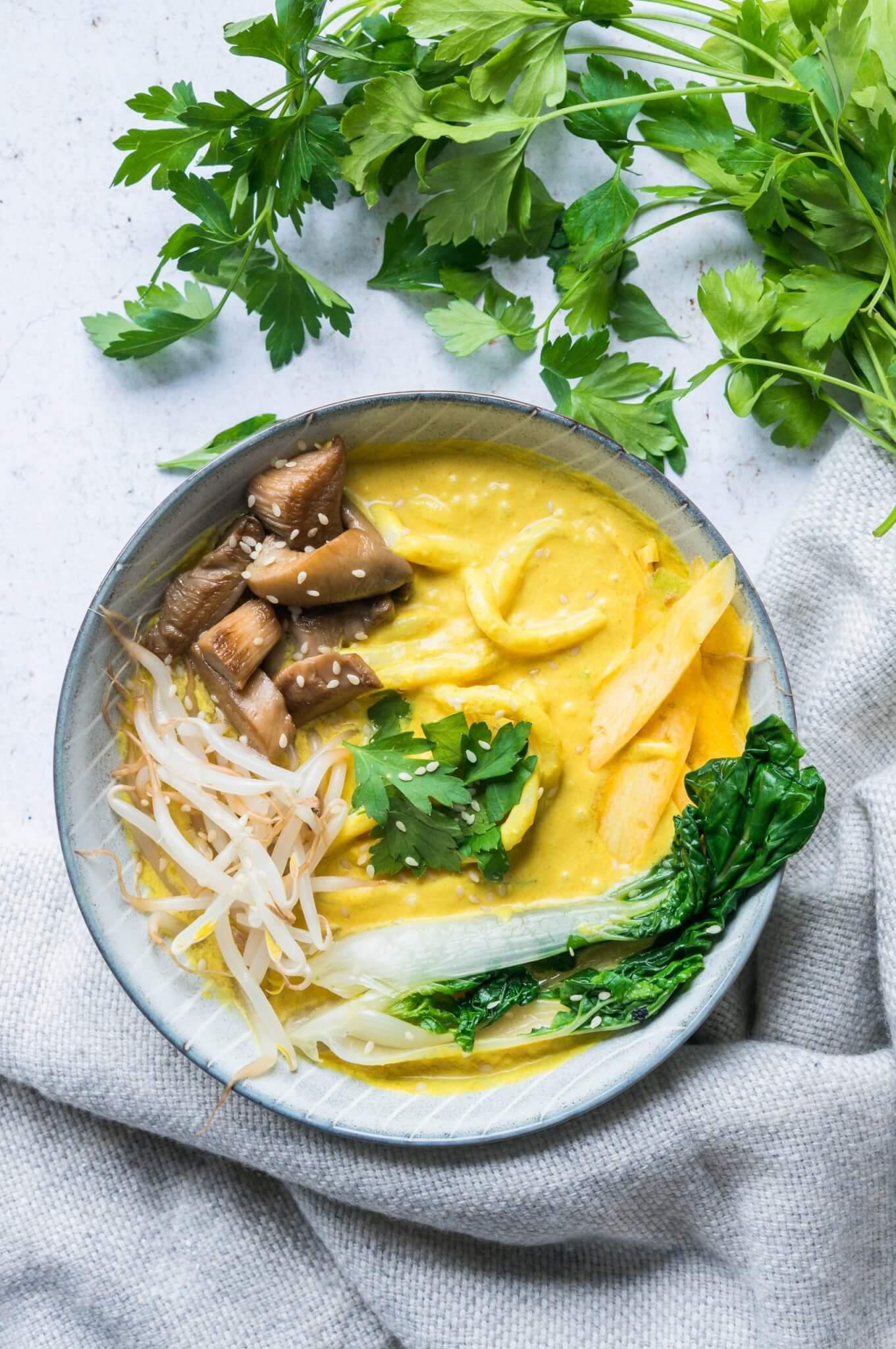 Curry Ramen (Vegan)
