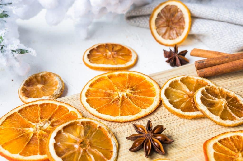 Getrocknete Orangen und Zitronen (selbstgemacht)