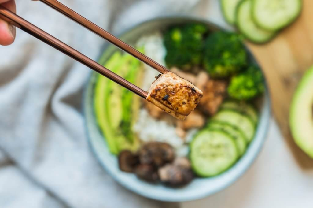 Bowl Teriyaki au Tofu (vegan)
