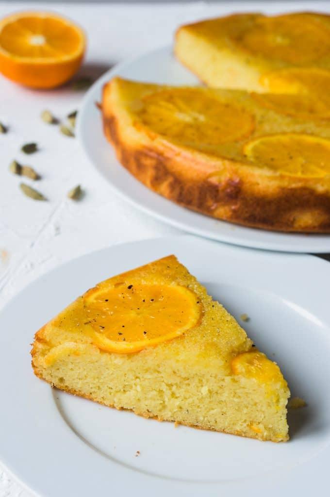 Orangen-Kardamom-Kuchen