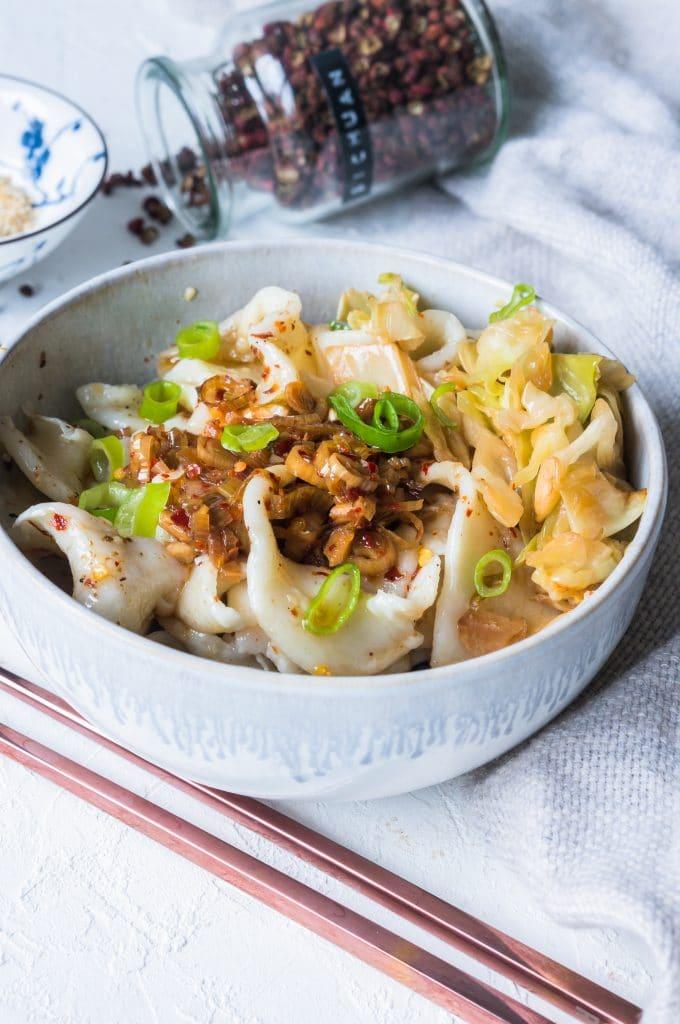Vegan Biang Biang Noodles