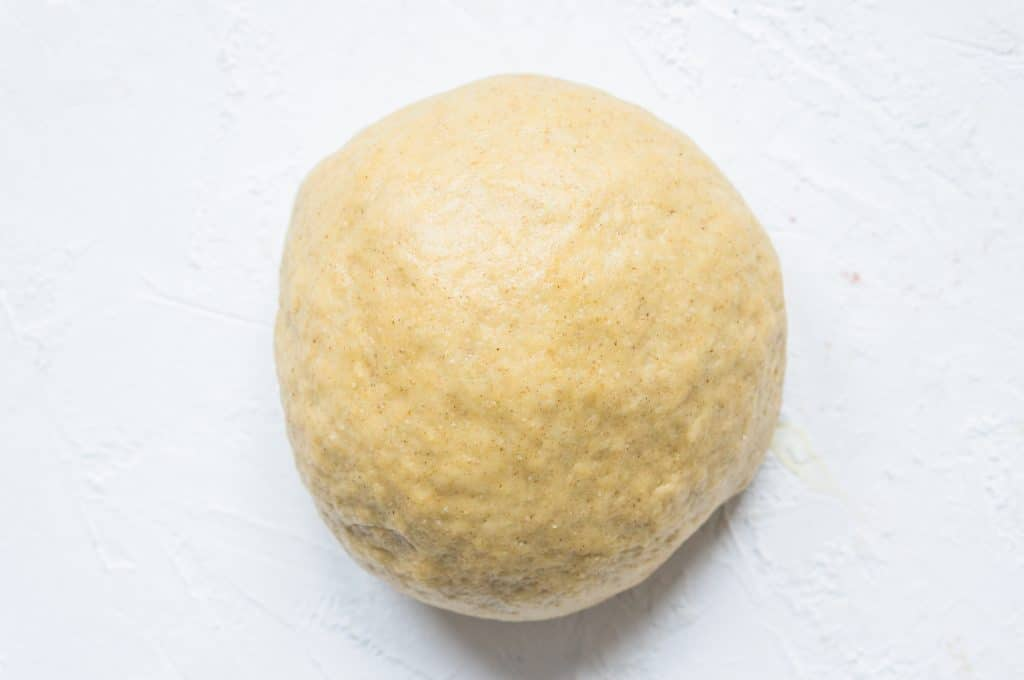 Shortcrust pastry with rye and olive oil