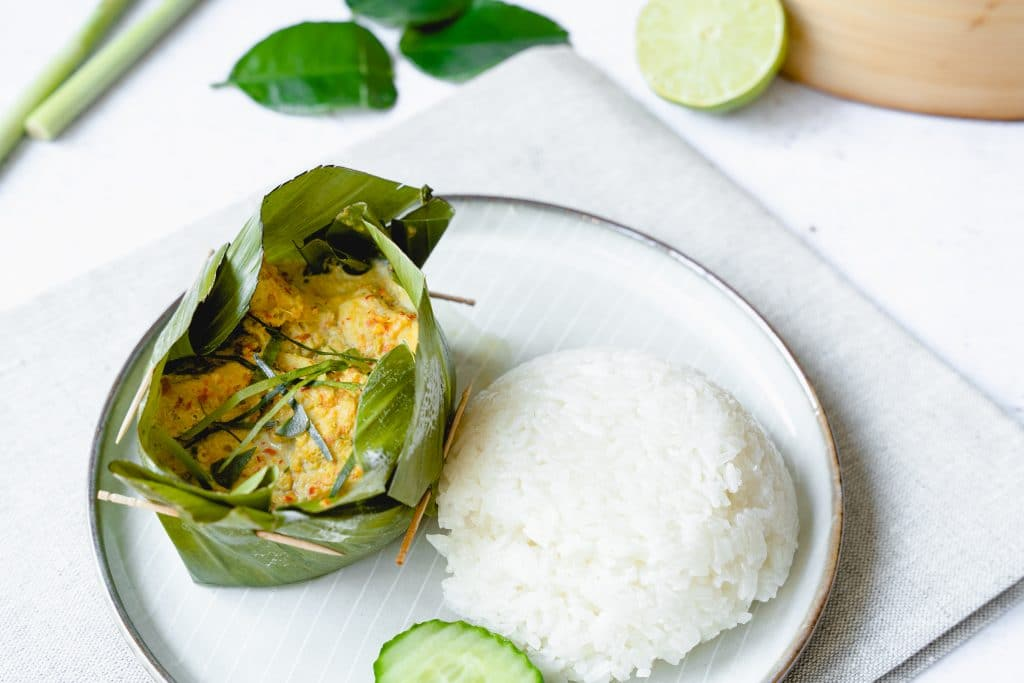 Amok ou Curry de Poisson Cambodgien