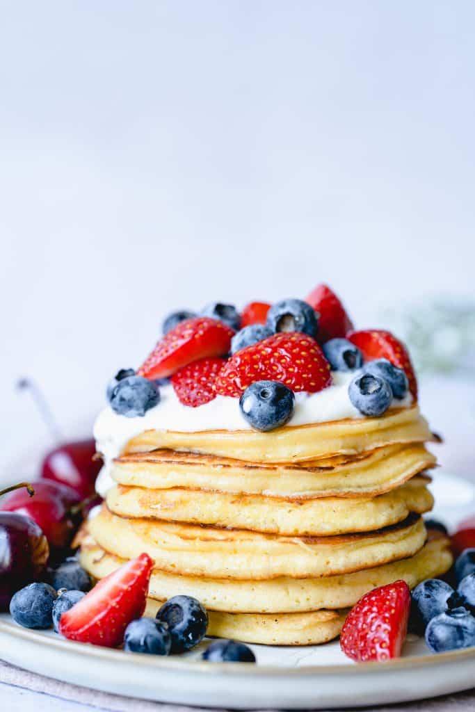 Pancakes Healthy (sans levure chimique)