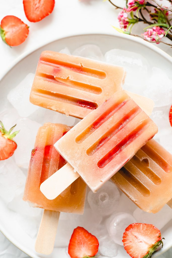Bâtonnets Glacés de Compote de Pomme