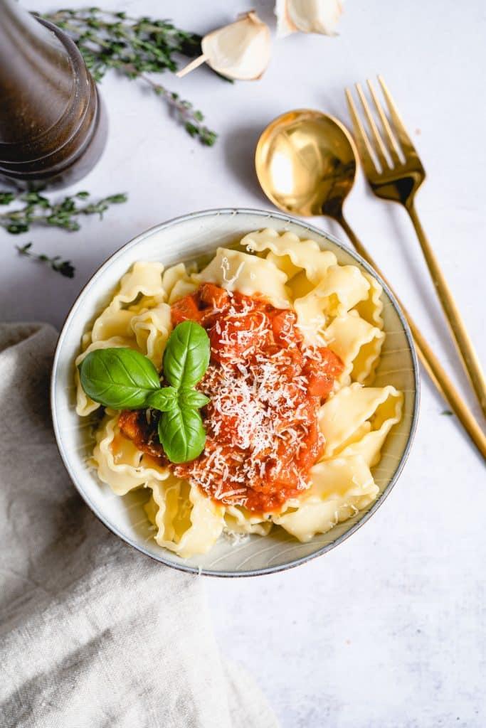 Sauce Bolognaise Végétarienne